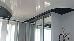 глянцевые натяжные потолки в Волгограде